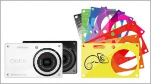 Pentax Optio RS1000 – компактна камера със сменяеми панел